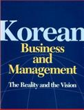 Korean Business and Management : The Reality and the Vision, Zusan Rhee, 1565911679