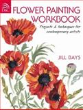 Flower Painting Workbook, Jill Bay, 0715331671