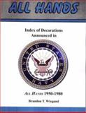 Index of Decoration Announced in All Hands, 1950-1980,, 1932891676