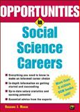 Opportunities in Social Science Careers, Rosanne J. Marek, 0071411674