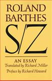 S/Z, Roland Barthes, 0374521670
