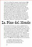 La Fine Del Mondo by Marco Fusinato, Felicity D. Scott and Mark Wasiuta, Fusinato, Marco and Scott, Felicity D., 0980651689