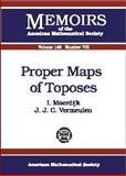 Proper Maps of Toposes, Ieke Moerdijk and J. J. C. Vermeulen, 0821821687