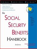 The Social Security Benefits Handbook, Tomkiel, Stanley A., III, 1572481684