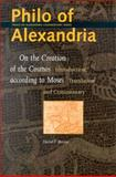Philo of Alexandria, on the Creation of the Cosmos According to Moses : Introduction, Translation and Commentary, Runia, David T., 9004121692