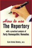 How to Use the Repertory, G. I. Bidwell, 8170211697