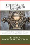 Effectiveness of the Called Activist, Stephen Okpara, 1475081693