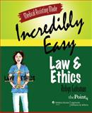 Law and Ethics, Springhouse Publishing Company Staff and Gohsman, Robyn, 0781771692