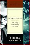 Incompleteness, Rebecca Goldstein, 0393051692
