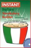 Instant Italian Voabulary Builder, Tom Means, 0781811694