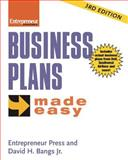 Business Plans Made Easy, Bangs, David H., Jr., 193253170X