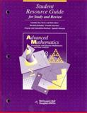 Student Resource Guide Advanced Mathematics for Study and Review, MCDOUGAL LITTEL, 0395421705