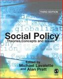 Social Policy : Theories, Concepts and Issues, , 1412901707