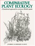 Comparative Plant Ecology 9780412741708
