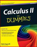 Calculus II for Dummies, Mark Zegarelli, 111816170X