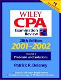 Wiley CPA Examination Review : Problems and Solutions, 2001-2002, Delaney, James, 047141171X