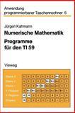 Numerische Mathematik, Jürgenglish Kahmann, 3528141719