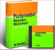 Pschyrembel Klinisches Wörterbuch, Pschyrembel, Willibald, 3110181711