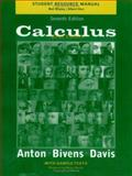 Calculus, Late Transcendentals : Multivariable Version, Anton, Howard and Bivens, Irl, 0471441716