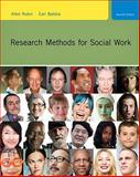 Research Methods for Social Work, Rubin, Allen and Babbie, Earl R., 0495811718