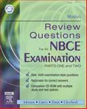 Mosby's Review Questions for the NBCE Examination, Mosby, 0323031722