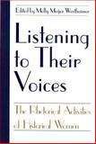 Listening to Their Voices 9781570031724