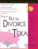 How to File for Divorce in Texas, Karen A. Rolcik and Edward A. Haman, 1572481722
