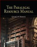 The Paralegal Resource Manual, Nemeth, Charles P., 0073361720