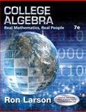 College Algebra : Real Mathematics, Real People, Larson, Ron, 1305071727