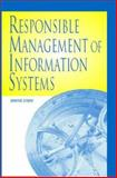 Responsible Management of Information Systems, Stahl, Bernd, 1591401720