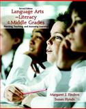 Language Arts and Literacy in the Middle Grades : Planning, Teaching, and Assessing Learning, Finders, Margaret J. and Hynds, Susan, 0131751727