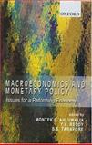 Macroeconomics and Monetary Policy : Issues for a Reforming Economy, , 0195661729