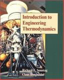 Introduction to Engineering Thermodynamics, Sonntag, Richard E. and Borgnakke, Claus, 0471321729