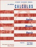 Calculus : Early Transcendentals: Student Resource Manual, Anton, Howard and Bivens, Irl C., 0471441732