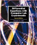 Differential Equations with Computer Lab Experiments, Zill, Dennis G., 0534351735