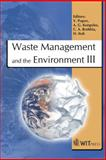 Waste Management and the Environment III, V. Popov, 1845641736