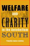 Welfare and Charity in the Antebellum South, Lockley, Timothy James, 0813031737