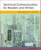 Technical Communication for Readers and Writers, Sims, Brenda R., 0618221735