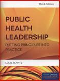 Public Health Leadership, Louis Rowitz, 1284021734