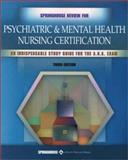 Springhouse Review for Psychiatric and Mental Health Nursing Certification, Munden, Julie, 1582551731