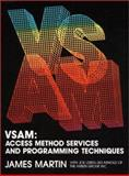 VSAM : Services and Programming Techniques, Martin, James and Leben, Joseph F., 0139441743