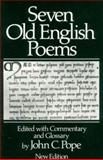 Seven Old English Poems, , 039395174X