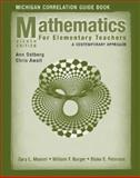 Mathematics for Elementary Teachers : A Contemporary Approach - Michigan Correlation Guide Book, Musser, Gary L. and Burger, William F., 0470231742