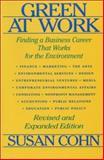 Green at Work, Susan Cohn, 1559631740