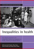 Inequalities in Health, Daniel Dorling, David Gordon, Mary Shaw, George Davey Smith, 1861341741