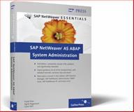 SAP NetWeaver ABAP System Administration, Föse, Frank and Hagemann, Sigrid, 1592291740