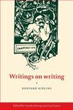 Writings on Writing, Kipling, Rudyard, 0521111757