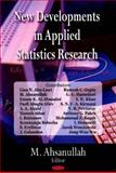 New Developments in Applied Statistics Research, Ahsanullah, M., 1604561750