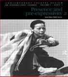 Presence and Pre-Expressivity, Yarrow, 9057021757