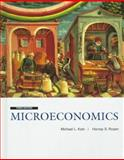 Microeconomics, Katz, Michael L. and Rosen, Harvey S., 0256171769